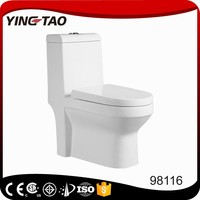 Haibo Ceramic cheap siphon floating vortec one piece toilet