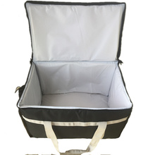 Polyester Leak-proof Cooler Warm Hot Insulated Food Delivery Bag For Carry Lunch
