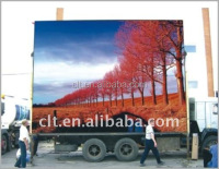 Truck led tv billboard of P12 2RGB outdoor mobile screen advertising