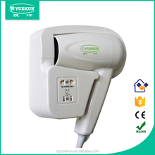 factory 220v/110v 2-pin socket newest style hairdryer/ shaver socket automatic hair dryer