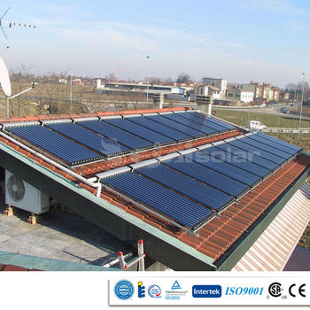 Split parabolic solar collector heat pipe 58*1800mm