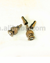free samples micro Ultrasonic detection Mini BNC female bulkhead rf connector for Flex2 cable
