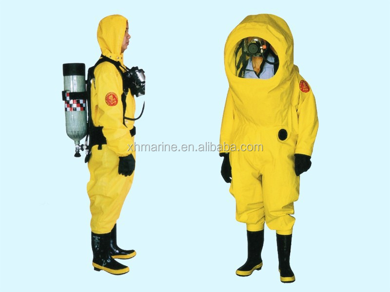reusable chemical acid resistant workwear coverall and fire protection clothing