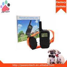 Pet-Tech X-600 remote dog collar led light, beeper, vibration and electric shock training