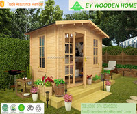 prefabricated wooden garden house