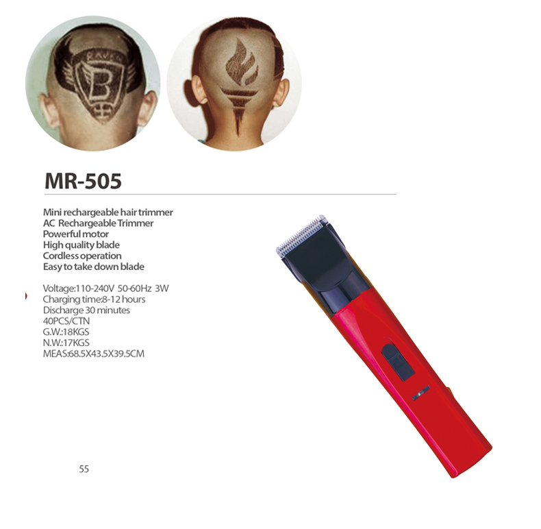 MRY cheap waterproof electric razor Specialized Production Custom manual hair mini cutter
