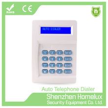 wired alarm auto dialer for home security system with LCD display