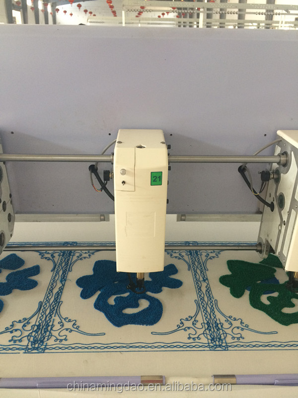 chenille embrodiery machine
