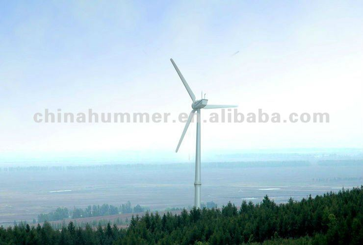 50kw vawt wind turbine for hydroelectric power station