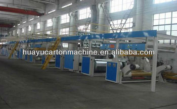High speed automatic WJ-1600-100-5 Layer corrugated cardboard line