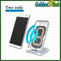 2017 Newest white color Android phone Qi Wireless Charger