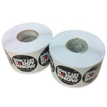 Custom self adhesive label sticker print,waterproof PVC vinyl sticker,hot selling label