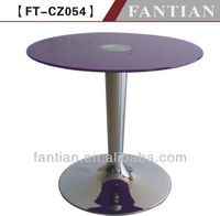iron base round glass coffee tables in dining room furniture