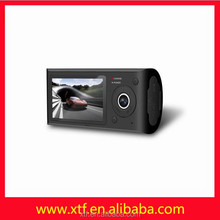 Factory direct sales 2.7 inches dual lens vehicle car camera DVR video recorder