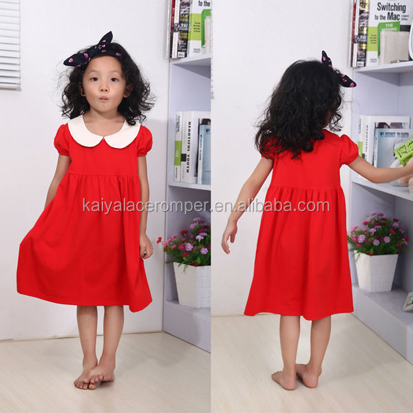 12 year girl without dress red summer baby cotton frocks designs kid clothes