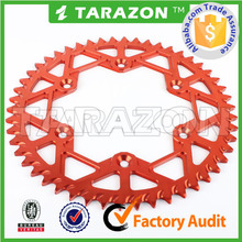 Aluminium Rear Sprockets for HONDA XR50 CRF50 XR70 CRF70 CR80 85+CRF150 CR80/85 CRF150 CR250/450 CRF250/450