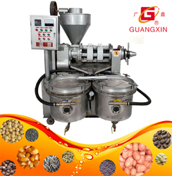 YZYX90WZ Mini sesame oil press machine with vaccum oil filter