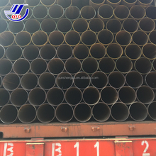 Tianjin Qunshengda ERW Black Carbon Welding Steel Pipe With All 3 Layers for Oil and Gas