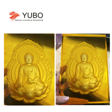Transparent Colorful Resin Buddha