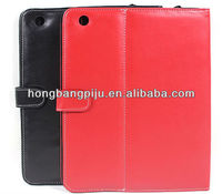 2013 New style for iPad smart leather holster