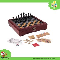 2016 Alibaba gold supplier chess board wood game pieces chess board game