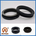 Wheel Loader Undercarriage Spare Part Crawler floating seals PC800