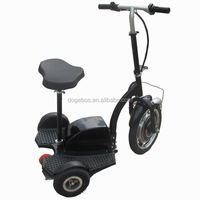 350w/500w 150cc 3 wheel scooter for handicapped with removable seat
