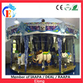 Elong 16 seats carousel horse theme park rides for sale, Ice and snow carousel