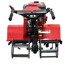 Farm machine rotavator gasoline/diesel mini multifunctionrotary cultivator tiller