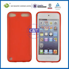 C&T TPU soft case for ipod touch 5, cases for ipod touch 5