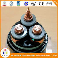 CE certificate Underground power cable 240mm xlpe 11kv power cable price
