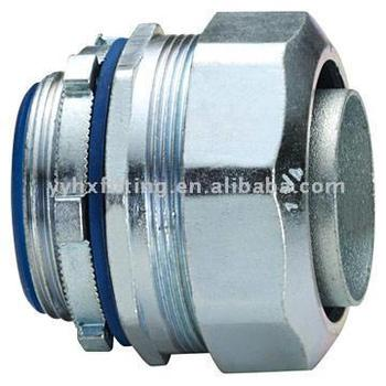 Liquid tight union connector steel pipe fittings
