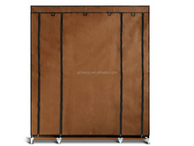 big canvas hanging rail storage wardrobe TM-210