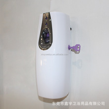 new arrival wall mounted auto air freshener dispenser / hotel battery automatic remote control aerosol dispenser