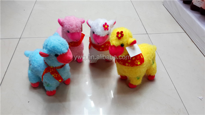 2014 Christmas sheep keychains toys with big coat for sale / 2014 plush soft Christmas dolls