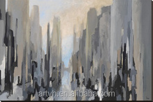 Handpainted modern high quality canvas oil painting abstract art