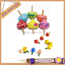 Promotional new design model spinning top peg-top toy