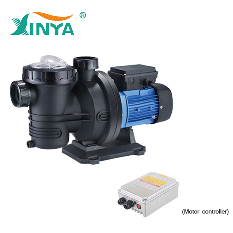Brushless solar powered dc swimming pool pump