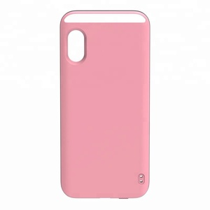 LED Selfie dimmable light case illuminated led light up selfie light phone case for mobile phone