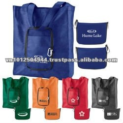 pp non-woven folded bag for travelling