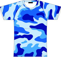full over sublimation printing wholesale breathable camo t shirt digital camo shirt