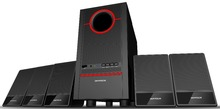 5.1 Channel Subwoofer Home Theater Speaker System with FM Radio,Bluetooth,SD and LED display
