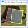 Water powered mobile charger solar panel,portable panel power bank charger