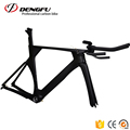 2017 DENGFU new style TT bike carbon triathlon bike frame time trial bike FM068