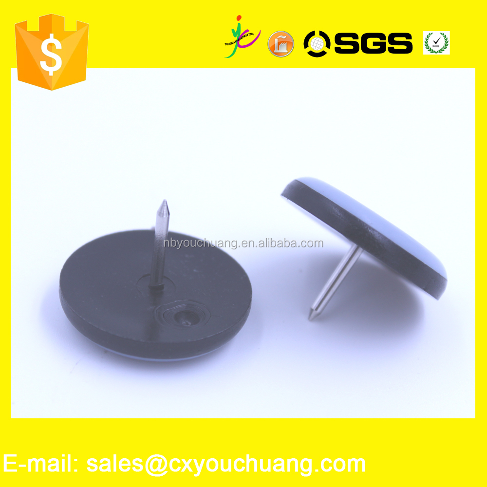 30mm ptfe base glides teflon furniture glides