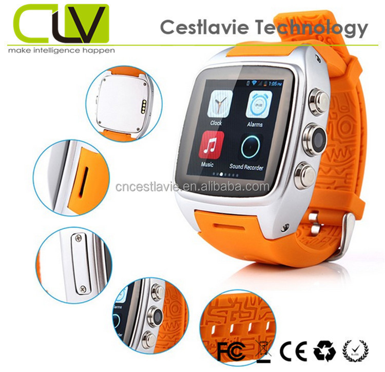 Branded watch smart X01 3G MTK6572 android smart watch Dual Core mobile kids t810 watch cell phone