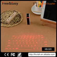 Virtual point 2.4g wireless fly mouse wireless keyboard with mouse