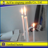 wholesale utility household white candles for emergency light+8615354440202