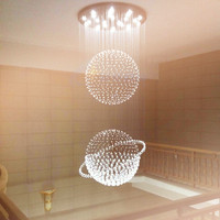 2015 Most Popular Crystal Chandelier Lamp Design Modern Standard Lamps Elegant Light Fitting