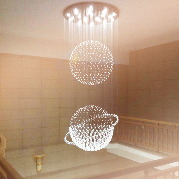 IN PROMOTION! 2017 Most Popular cheap Crystal Chandelier Lamp, Modern Standard Lamps Elegant Light